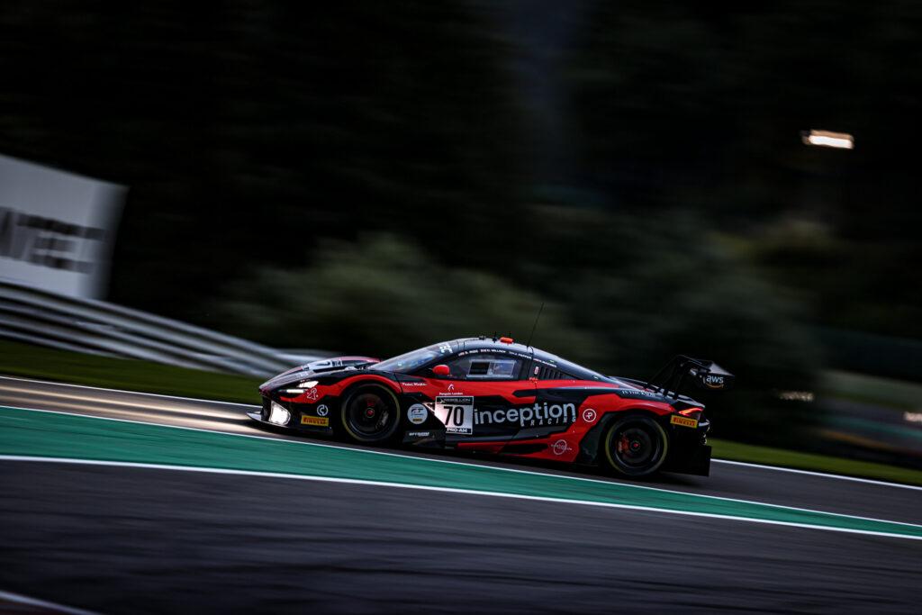 Brendan Iribe Jordan Pepper Kevin Madsen Oliver Millroy Inception Racing McLaren 720S GT3 GT World Challenge Europe 24h Spa