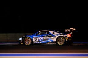 Anders Fjordbach Mark Patterson High Class Racing Audi R8 LMS GT2 GT2 European Series Le Castellet