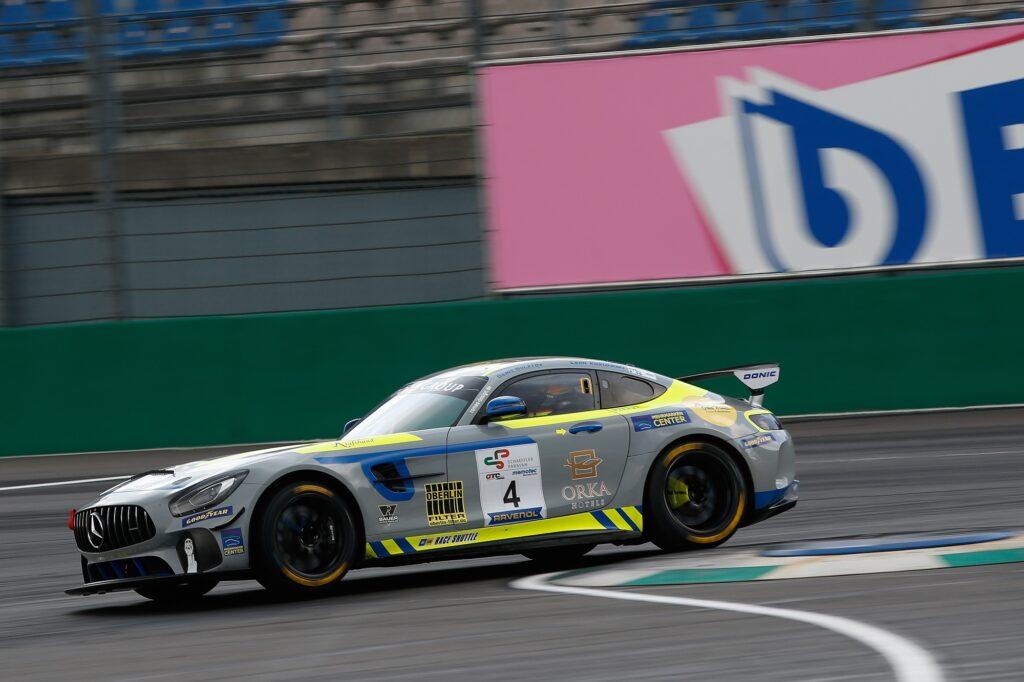 Denis Bulatov Leon Koslowski Eastside Motorsport Mercedes-AMG GT4 GTC Race Lausitzring