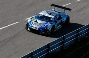 Dennis Marschall Kim Luis Schramm Rutronik Racing Audi R8 LMS GT3 ADAC GT Masters Sachsenring