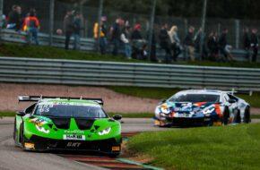 Mirko Bortolotti Albert Costa Grasser Racing Team Lamborghini Huracan GT3 ADAC GT Masters Sachsenring