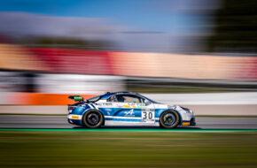 Loris Cabirou Vincent Beltoise Classic and Modern Racing Alpine A110 GT4 GT4 European Series Barcelona