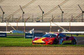 Alessandro Pier Guidi Come Ledogar Nicklas Nielsen AF Corse Ferrari 488 GT3 Intercontinental GT Challenge Indianapolis