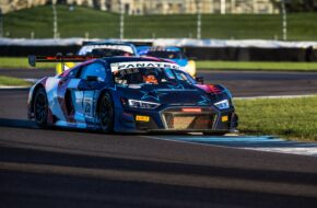 Christopher Haase Markus Winkelhock Patric Niederhauser Audi Sport Team Sainteloc Audi R8 LMS GT3 Intercontinental GT Challenge Indianapolis