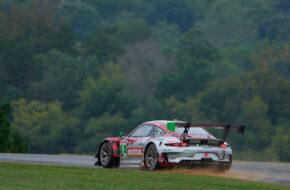 Zach Robichon Laurens Vanthoor Pfaff Motorsport Porsche 911 GT3 R IMSA WeatherTech Sportscar Championship VIRginia International Raceway