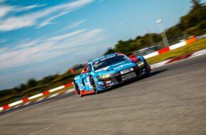 Frank Stippler Vincent Kolb Phoenix Racing Audi R8 LMS GT3 Nürburgring Langstrecken-Serie Nürburgring-Nordschleife